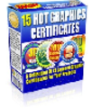 15 Certificate Graphics